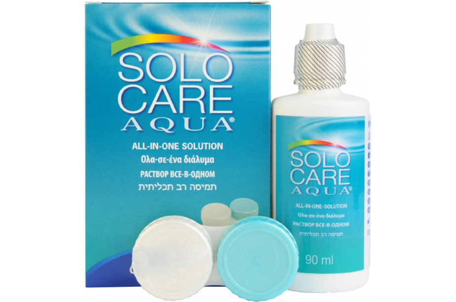 SOLO-care AQUA производства CIBA Vision