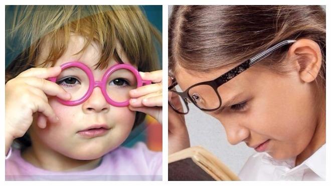Астенопия у детей