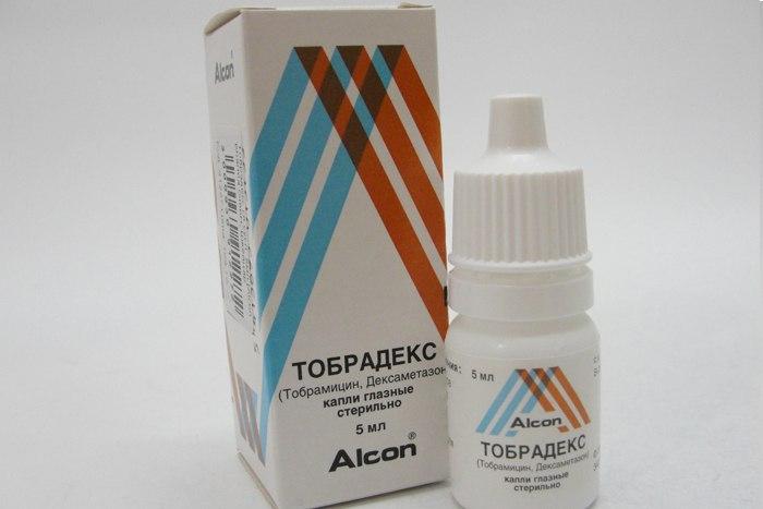 Глазные капли «Тобрадекс»