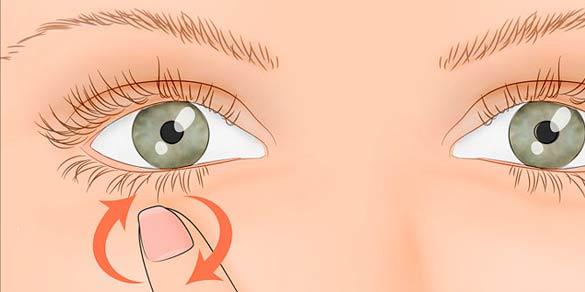 Постоянно дергается левый глаз