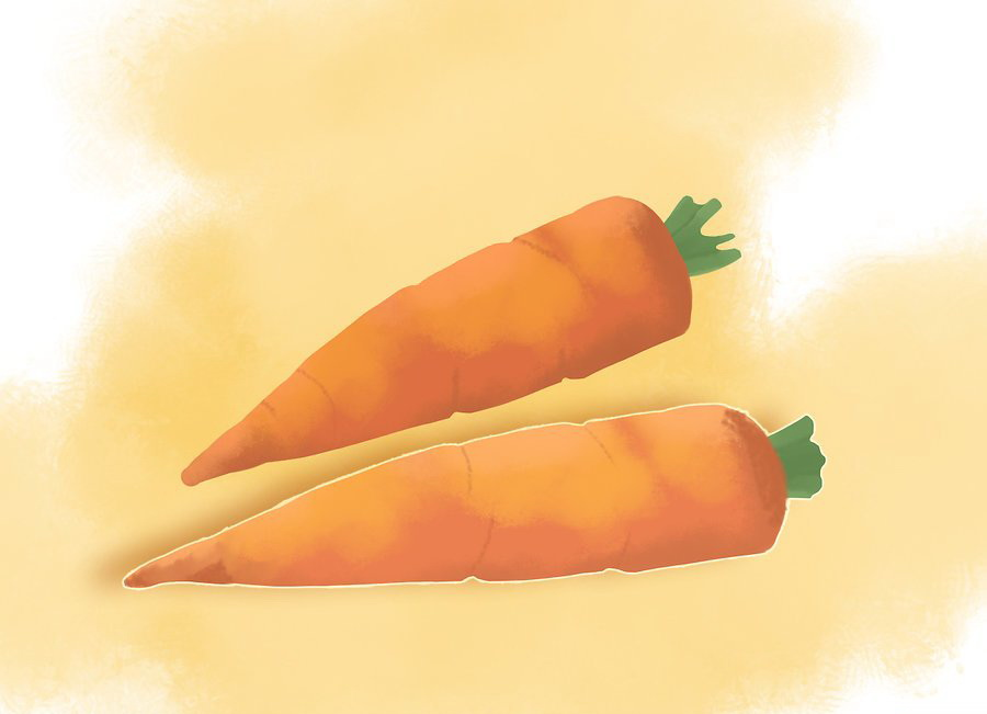 Ешьте больше моркови