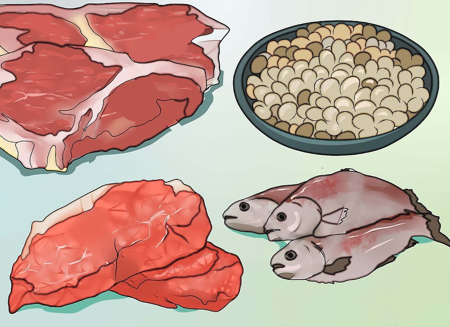 Ешьте больше продуктов, которые богаты цинком и кислотами омега-3