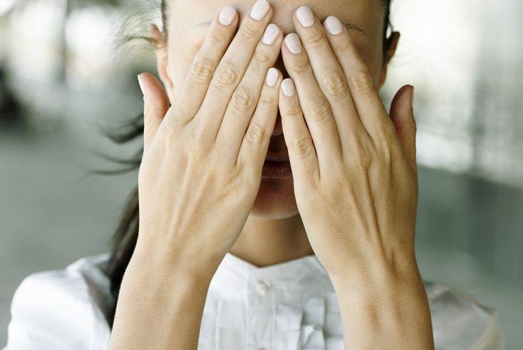 Зрение может ухудшиться из-за стрессов