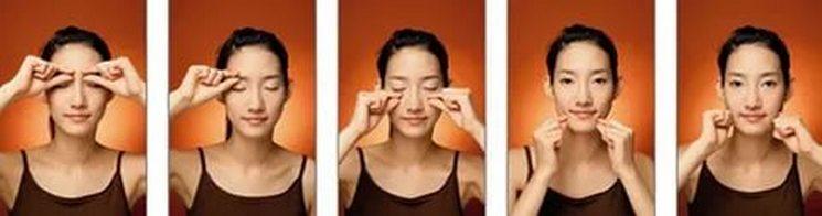 Корейский щипковый массаж лица