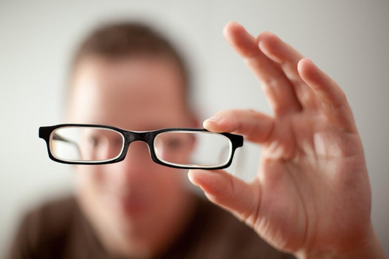 Неправильно подобранные очки - еще одна возможная причина