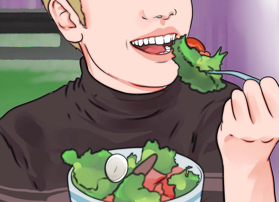 Помните о здоровом питании