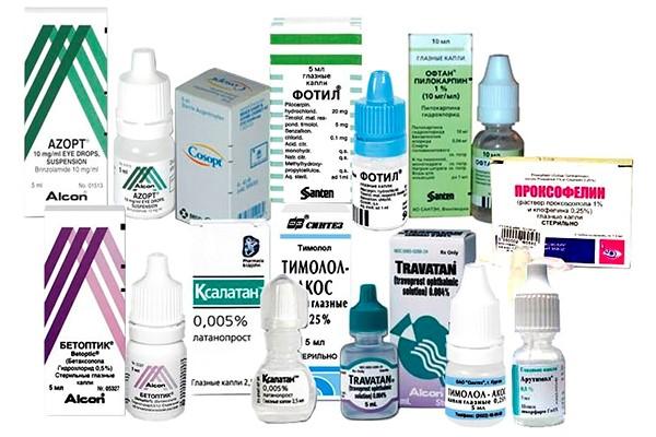 Препарат для снижения внутриглазного давления при глаукоме