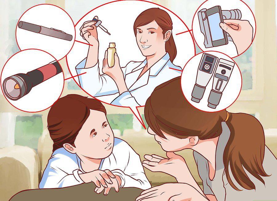 Расскажите ребенку о назначенном лечении