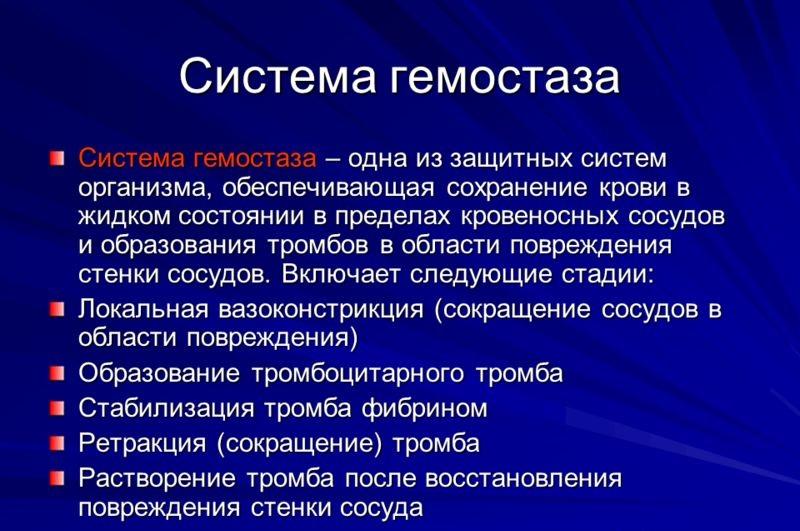 Система гемостаза