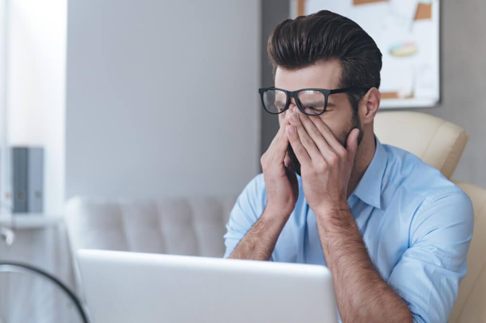 Сухость и усталость глаз от компьютера