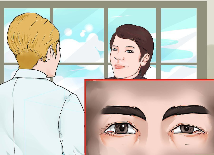 Узнайте, есть ли у кого-то из родственников глазные заболевания