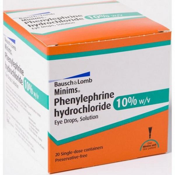 Фенилэфрина гидрохлорид - что это такое