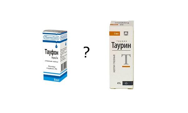 «Таурин» или «Тауфон» - что лучше?