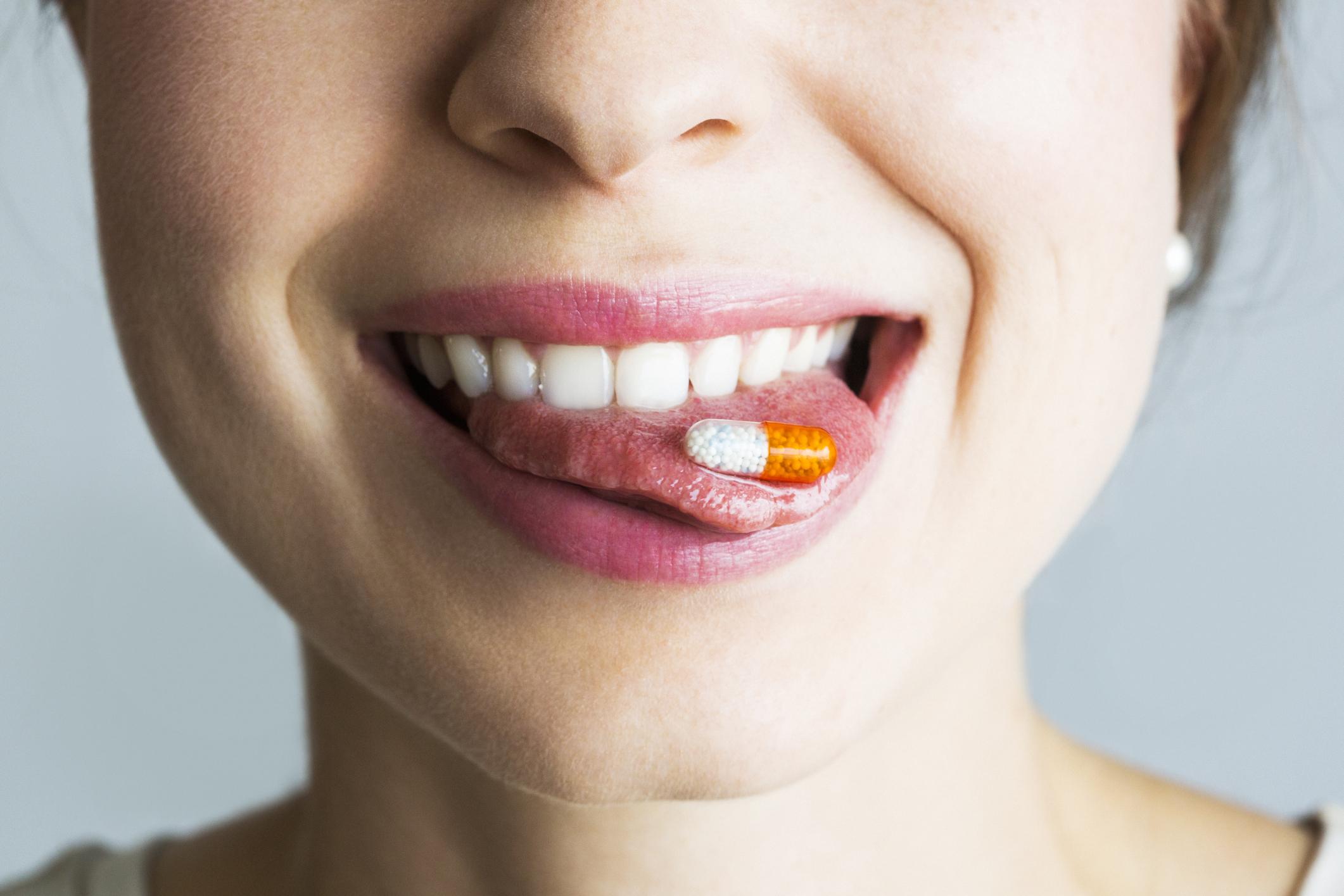 Витамины в виде таблеток