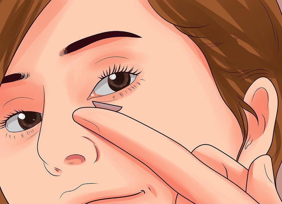 Временно откажитесь от контактных линз