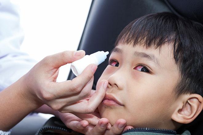 Детские глазные капли противовирусные
