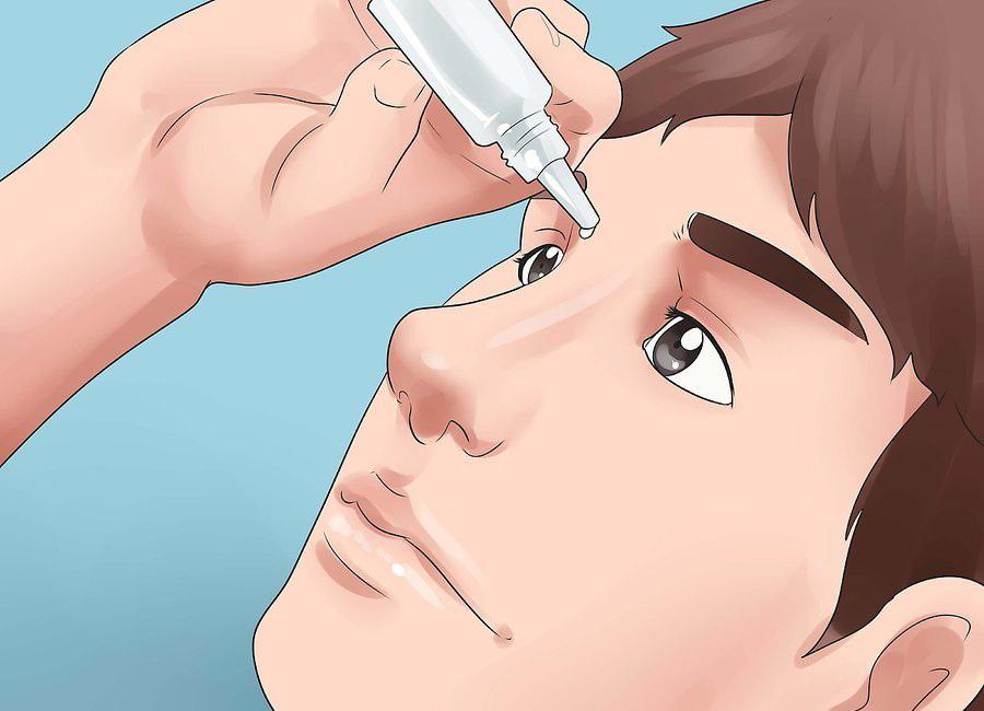 Используйте глазные капли
