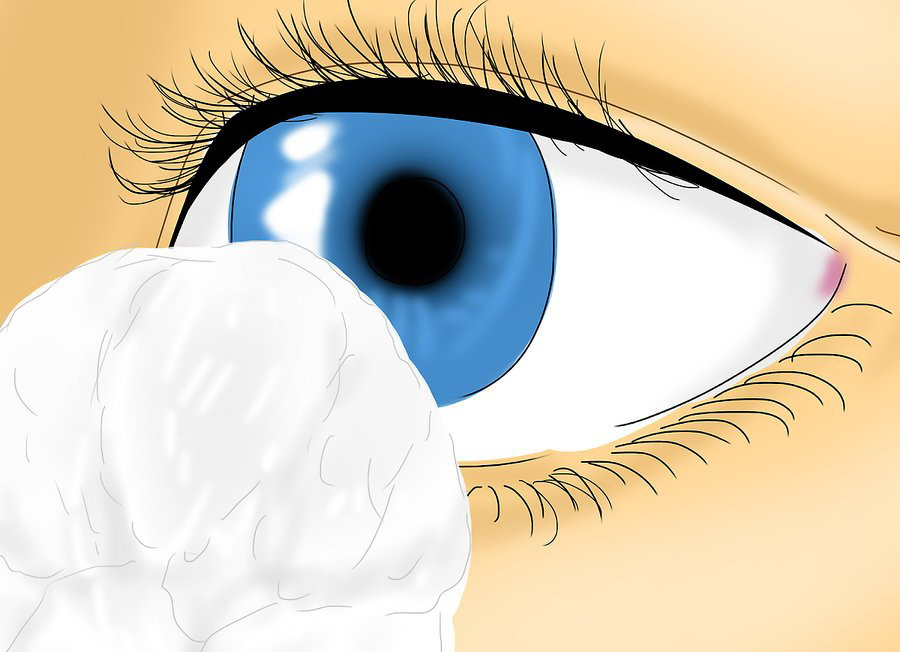 Используйте чистые ватные тампоны