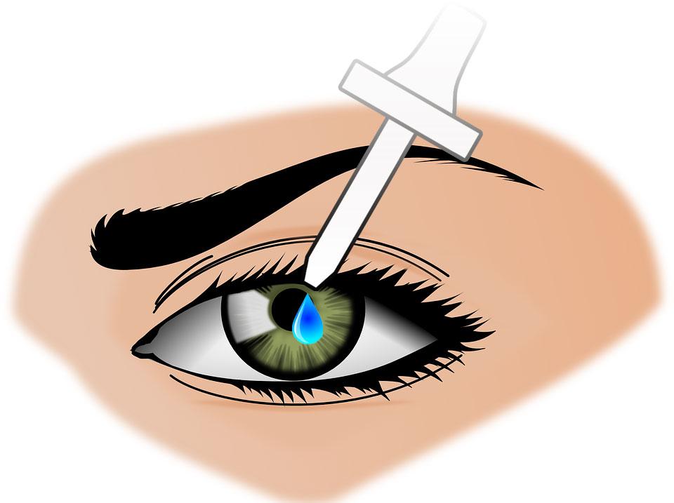 Как правильно капать капли в глаза
