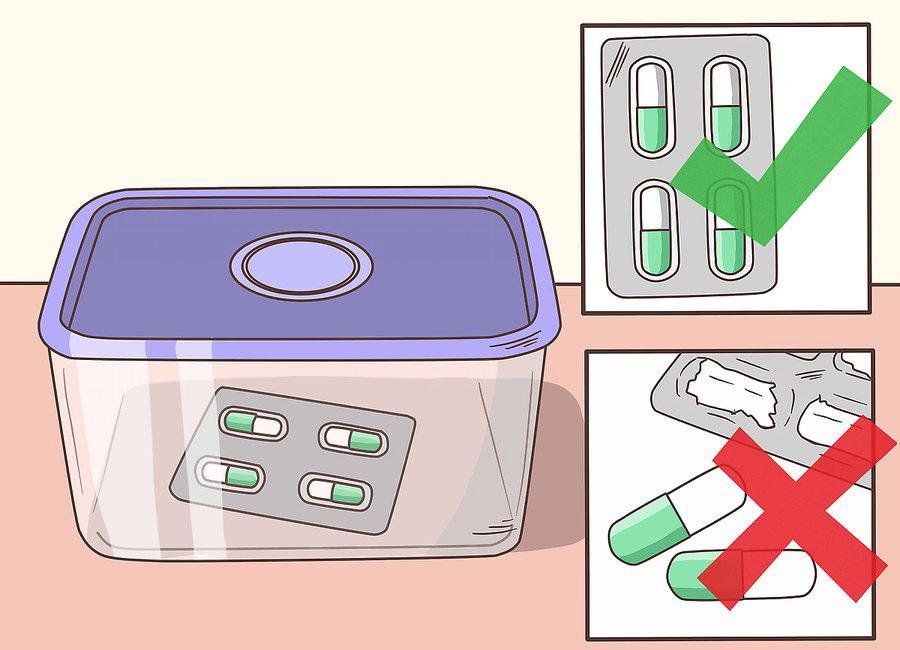 Не вынимайте БАДы из заводской упаковки