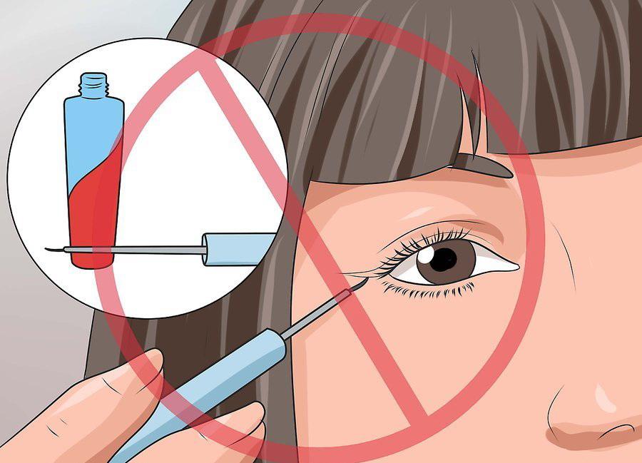Не пользуйтесь косметикой