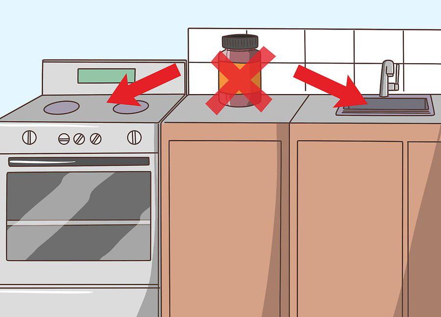Не стоит держать БАДы возле нагревательных приборов