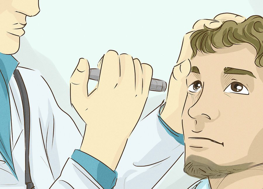 Обратитесь к офтальмологу