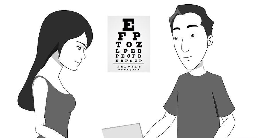 Поговорите с офтальмологом