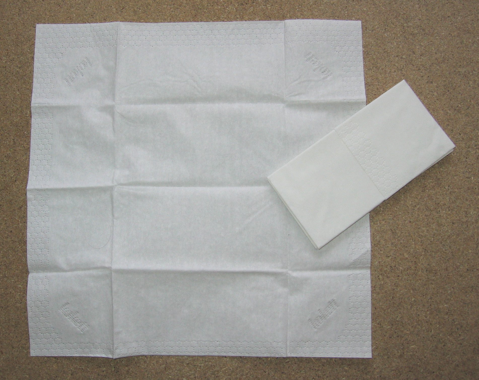 Подготовьте платки для вытирания глаз