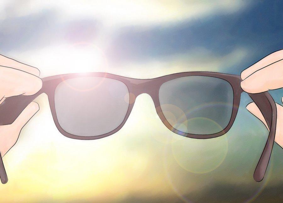 Пользуйтесь солнцезащитными очками