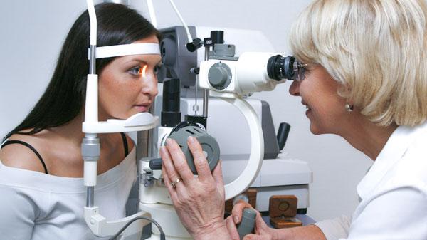 Прием у врача-офтальмолога
