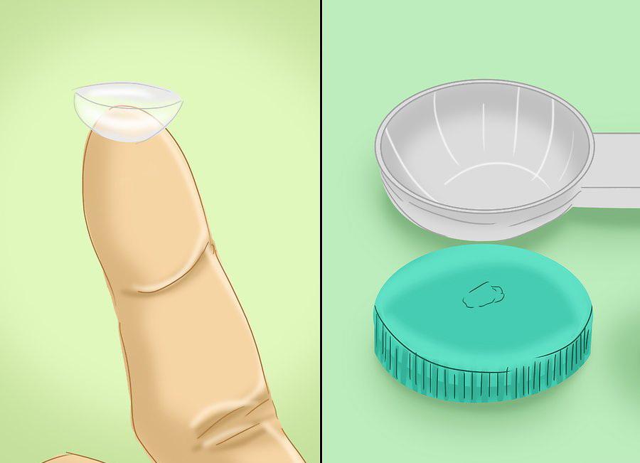 Регулярно меняйте контейнер для линз