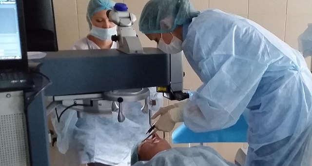 Устранение амблиопии хирургическое (операция)