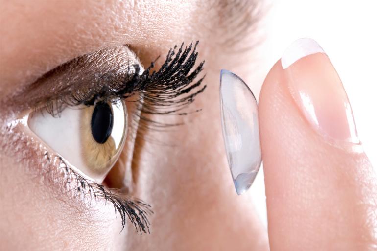 Мягкая контактная линза