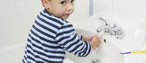Приучите ребенка к личной гигиене