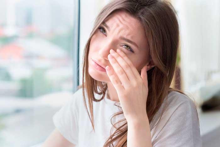 Зуд в глазах - один из побочных эффектов