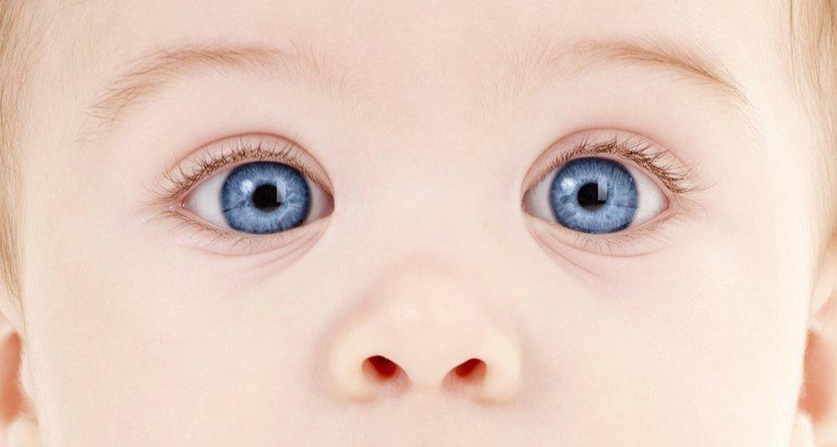 Каким будет цвет глаз у ребенка
