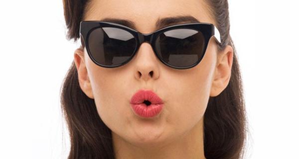 На улице лучше носить солнцезащитные очки
