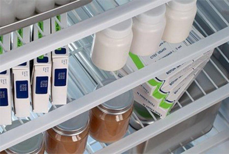 Некоторые лекарства хранятся при низкой температуре