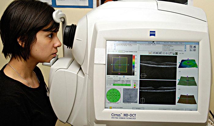 ОКТ (оптическая когерентная томография)