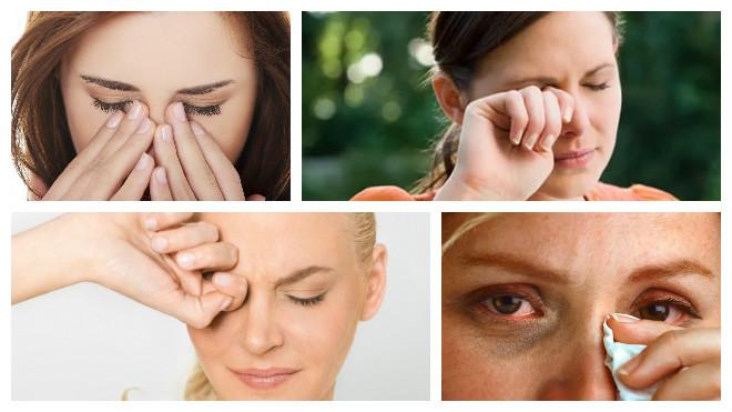 При каких болезнях может появляться зуд в глазах