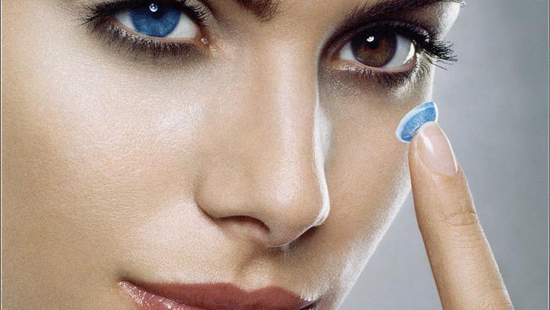 Проблему можно решить цветными контактными линзами