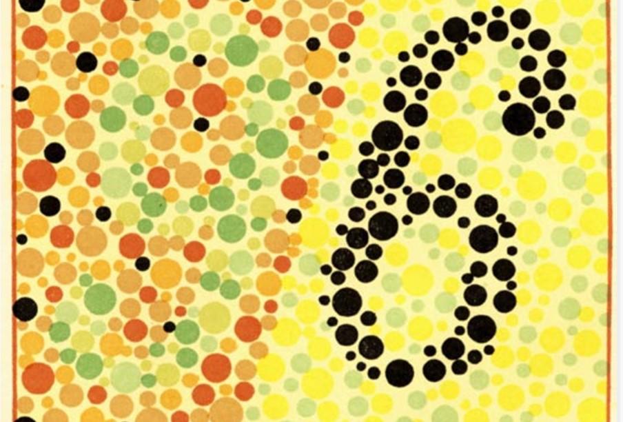 Протанопы и люди без патологии увидят цифру 96