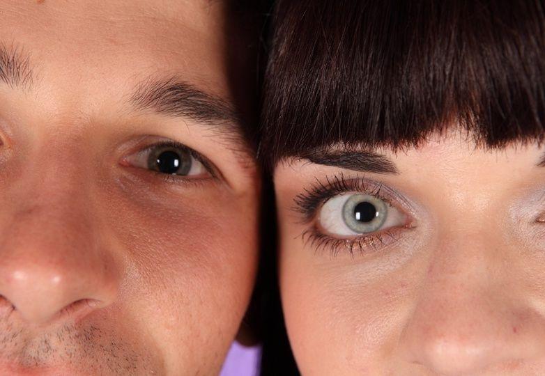 Разный цвет глаз родителей
