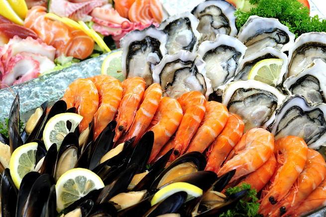 Селен содержится в рыбе и морепродуктах