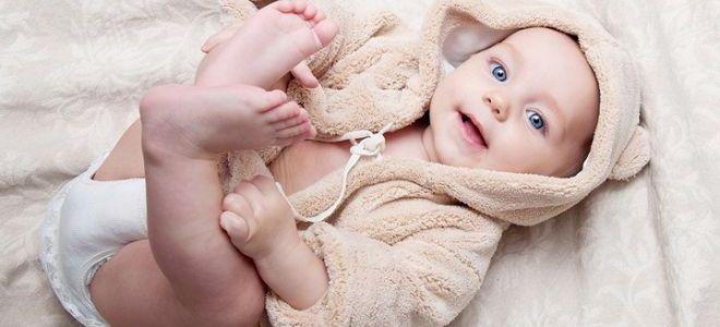 Цвет глаз младенца в дальнейшем меняется