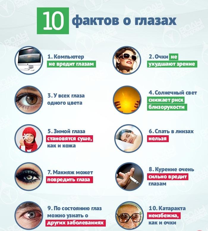 10 фактов о глазах