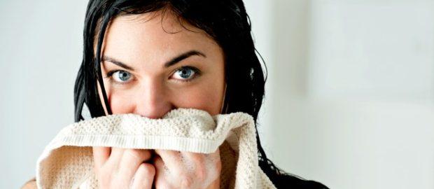 Бактерии могут передаваться через общее полотенце