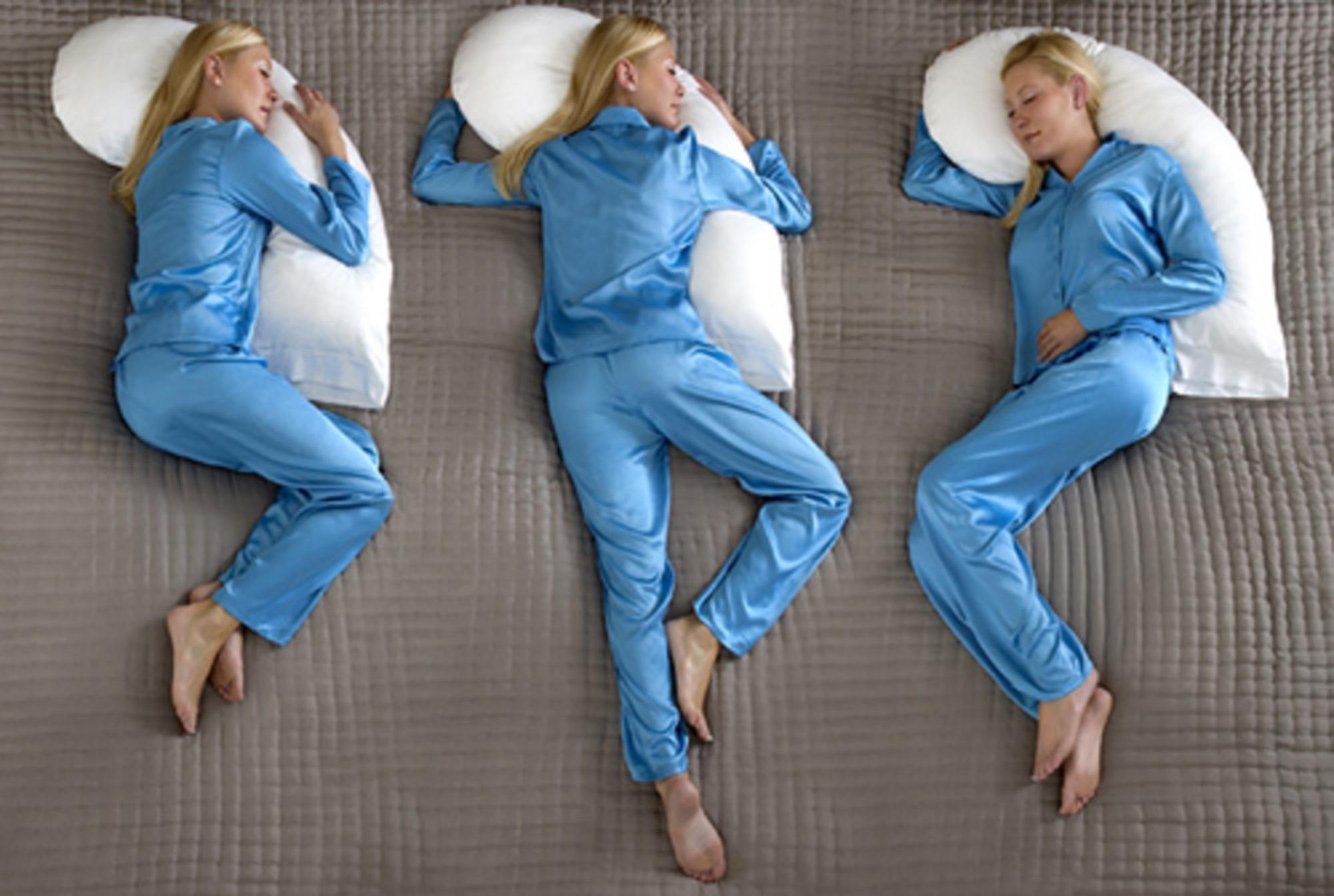 Выбираем правильную позу для сна