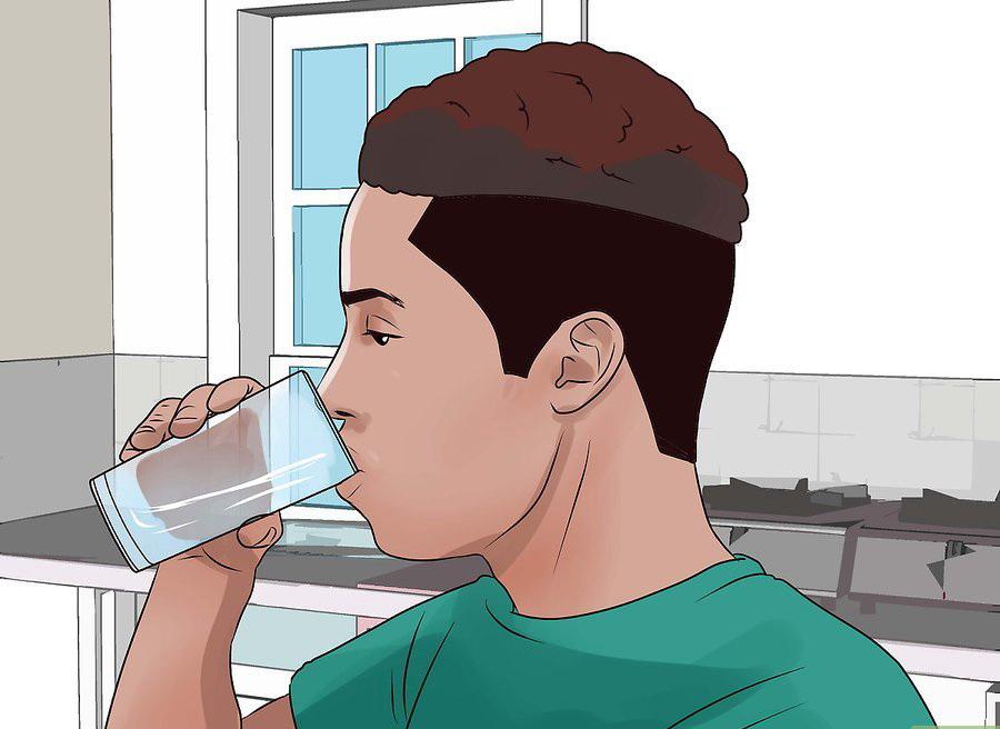 Выпейте немного воды